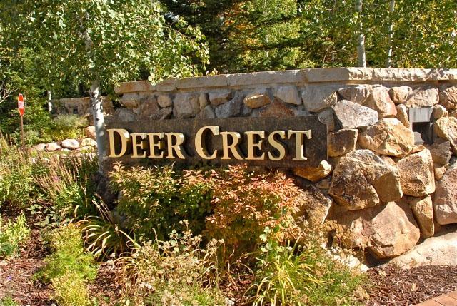 Deer Crest Entrance